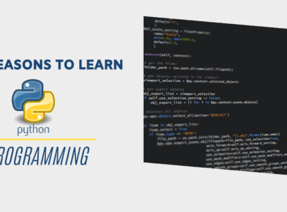Reasons to Learn Python development in 2020
