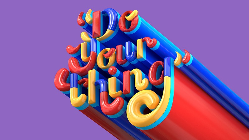 3D-typography-design